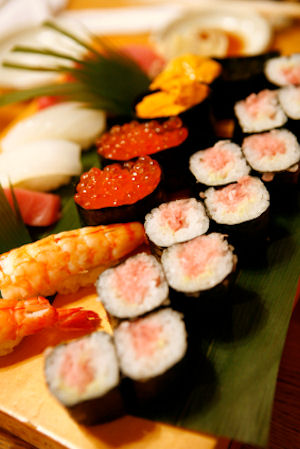 Sushi recipes japan